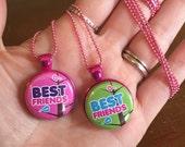 Best Friends Magnetic Pendants set of two