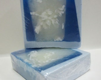 Handmade Glycerin Soap Bar - Lily of the Valley Scented Soap