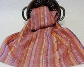 Handwoven Cotton/Linen Towel for Kitchen & Bath - Pink Towel,  Handtowel, Kitchen Towel, Handwoven Towel, Tea Towel, Breadcloth
