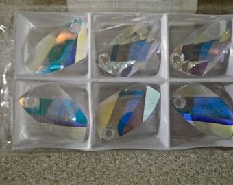 Swarovski Crystal Avant Garde Pendant AB Crystal