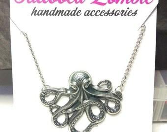 Mr Octopus Necklace