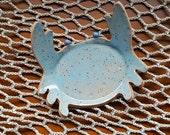 Spoon Rest - Tea Bag Holder - Sponge Holder - Crab - Large