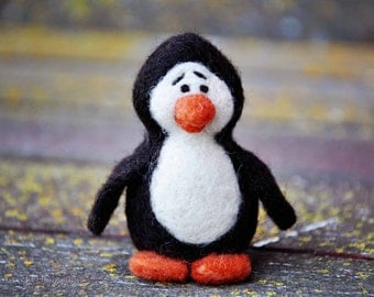 Penguin Needle Felting Kit - DIY Craft - Make your own Penguin
