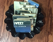 SWEET recycled Level Headed album cover coasters with record bowl