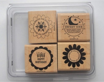 Stampin' Up! So Many Scallops Stamp Set (set of 4)