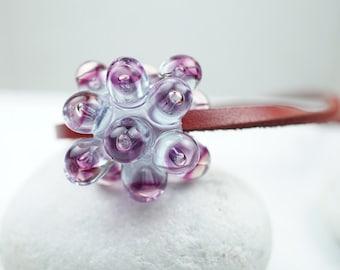 Contemporary Jewelry // Murano Glass Jewelry // Contemporary Necklace // Hand Blown Glass Sputnik