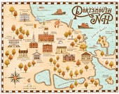 Portsmouth, NH map