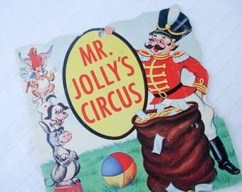 Mr Jolly's Circus - children's book - 1965