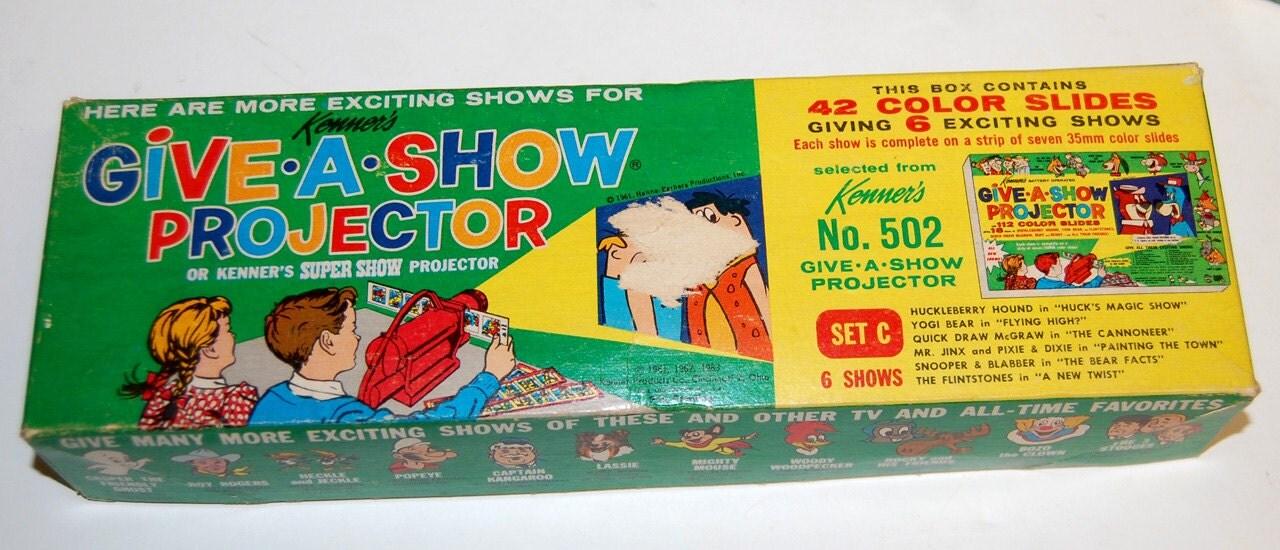 Vintage 1961 Kenner Give A Show Projector Cartoon Slides 42
