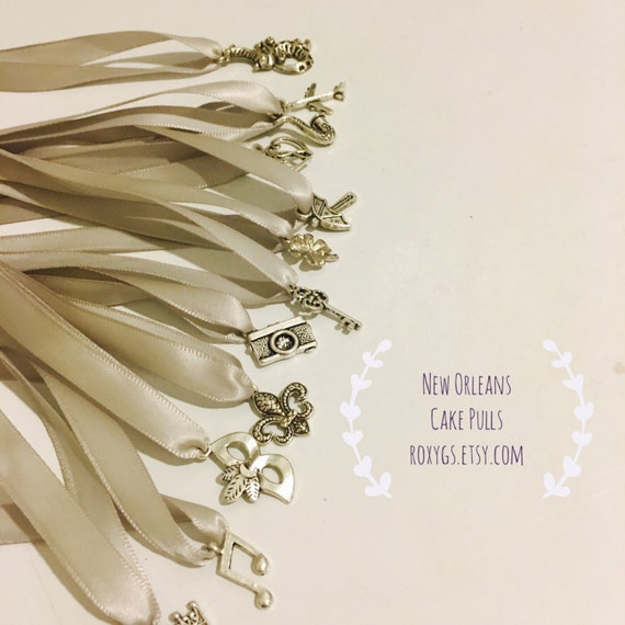 Cake Pulls New Orleans 12 Charms Set 1 Ribbons12 Meaning