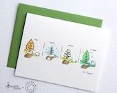 I'm Baaack - Sheeptails - Folded Cards (6)