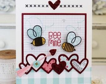 Bee Mine...Handmade Card
