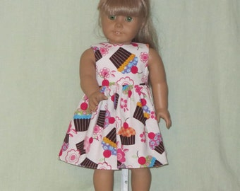 American Girl 18 inch Doll Size Dress Cup Cakes