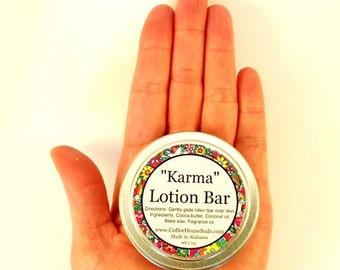 Karma Lotion Bar - Travel Tin - Free Shipping