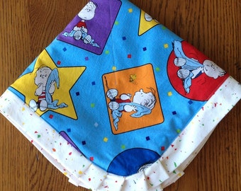 NEW....Linus from Peanuts Minky Lovey....Can Be Personalized
