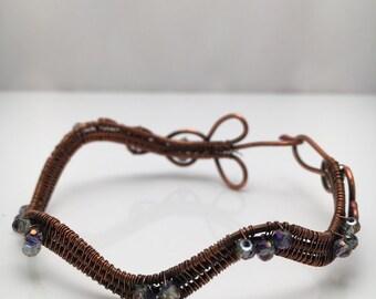 Wavy wire wrap