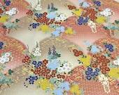 Kimono print Japanese fabric