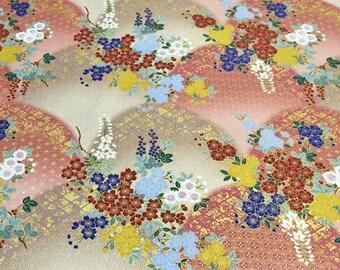 Kimono print Japanese fabric A5