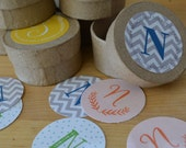 Monogram Sticker Variety Gift Set