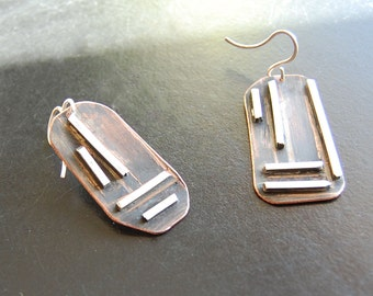 Divergent Lines Earrings