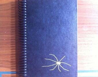 The Golden Spiders , Blank Book Journal or Sketchbook