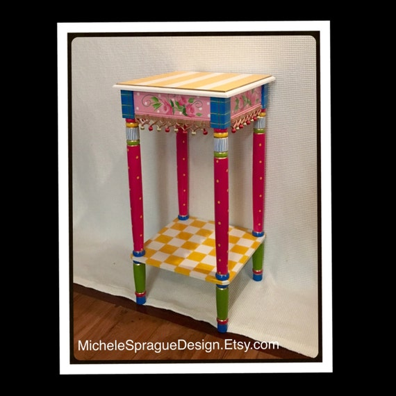 Whimsical Painted Furniture Painted Table Whimsical
