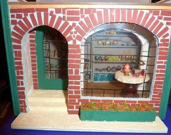Half Scale Dollhouse Shop