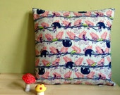 WeBeSlow  Quilted Pillow Cover