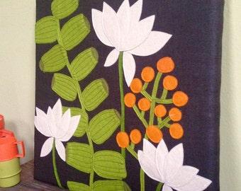 Fête Botanical   Textile Wallhanging