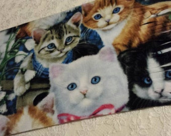Five Buck Fleece Scarf Blow Out Only at SylMarCreations!  The Joy of Kittens * Fleece Scarf * Beautiful Cats