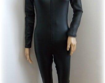 catsuit bodysuit sample sale black bodysuit small