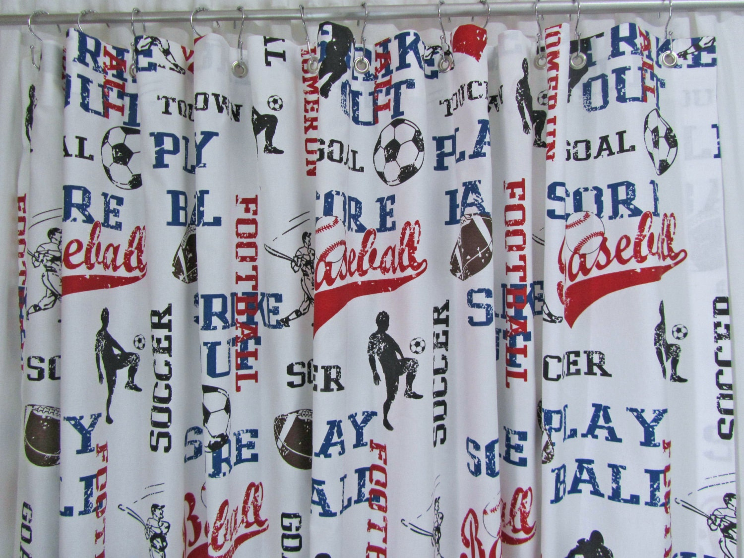 Soccer Bathroom Accessories Baseball Bathroom Etsy