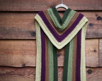 Crochet Scarf Pattern - School of Magic Scarf