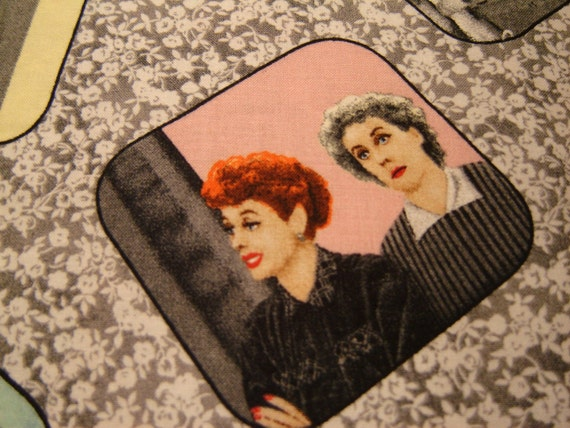 I Love Lucy Fabric Unforgettable Quilting Treasures