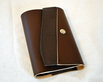2017 Earthy Refillable Leather Planner