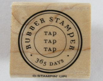 Stampin Up! - Rubber Stamper 365 Rubber Stamp #RS133