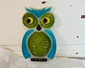 Vintage Lucite Owl Spoon Rest