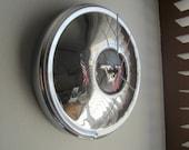 Vintage 1964-66 Volvo Hubcap Clock no.2357