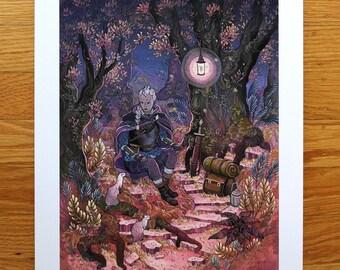Forest Knight - Fine Art Print