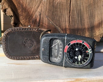 GE Light Meter with leather case