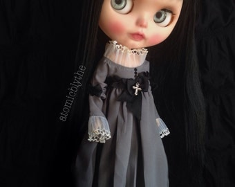 PREORDER Atomic Blythe Gothic Edwardian Mourning Dress Set