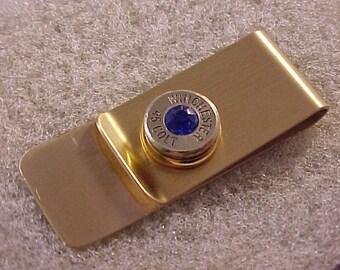 Bullet Money Clip 45 Colt Brass Shell
