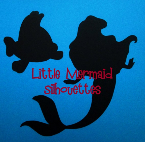 SILHOUETTES 7 Disney Little Mermaid By MagnoliaLaneMemories