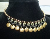 SALE - Vintage Beaded Erickson Beamon Choker Necklace