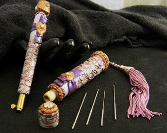 Calistoga Artisan Tambour Embroidery Set