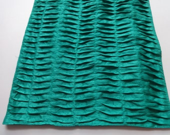 Mint Green Pin tuck table runner 52X14 inches