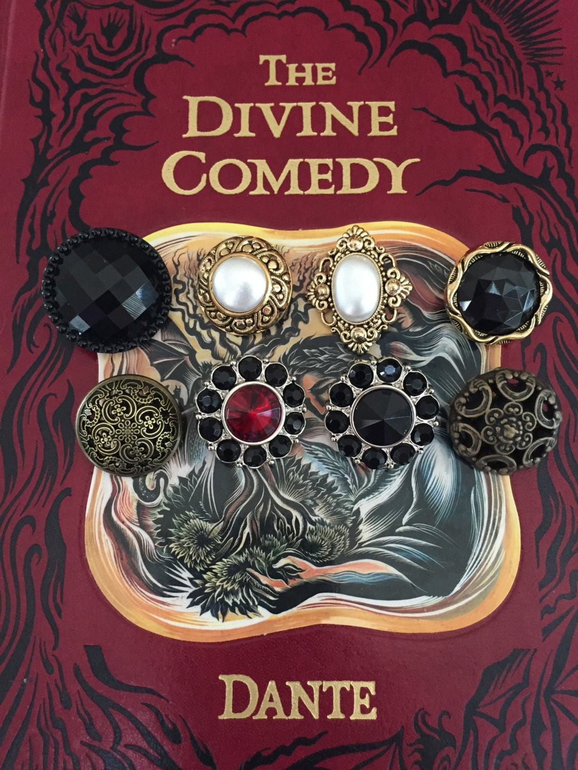 The Divine Comedy Dante Book Purse Purgatory By Novelcreations