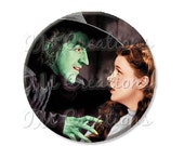 "BIG SALE - Pocket Mirror, Magnet or Pinback Button - Wedding Favors, Party themes - 2.25""- Wizard of Oz My Pretty MR412"