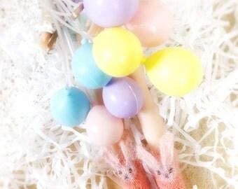 jiajiadoll - Pink Bunny Wonderland - Hand Knit-bunny socks fits momoko- blythe -Misaki- Unoa light- Lati yellow