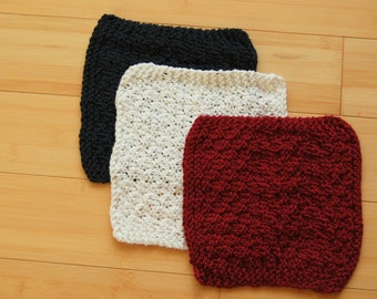 Red, White and Blue Washcloths
